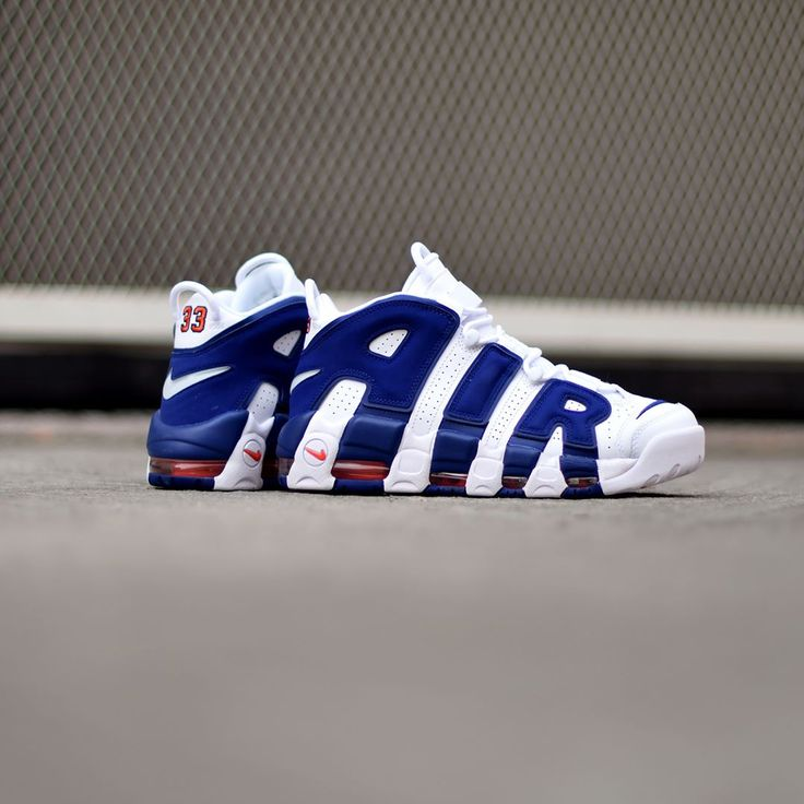 Nike Air More Uptempo '96 Knicks . Disponible/Available: SNKRS.