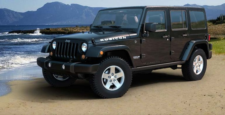 They really need to put a Diesel in this baby. Wrangler