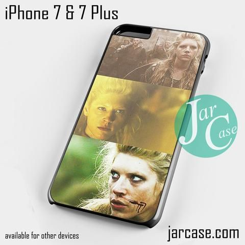 Vikings Lagertha 3 Phone case for iPhone 7 and 7 Plus