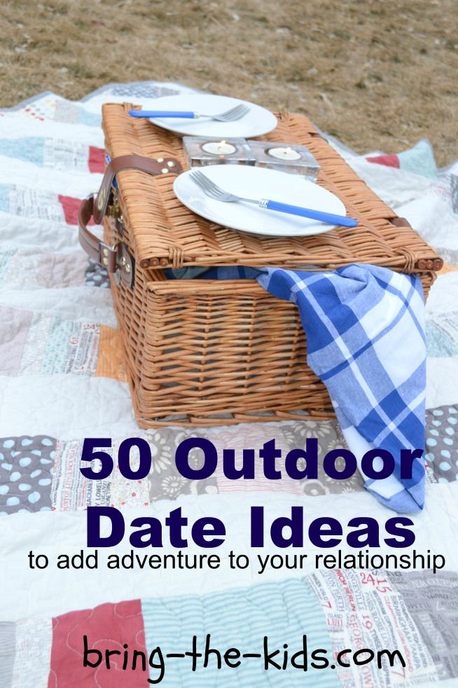Outdoor Date Ideas! Im always looking for inexpensive & fun things to do