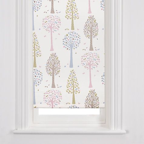 Buy John Lewis Magic Trees Roller Blind, Multicoloured Online at johnlewis.com  Millie's room