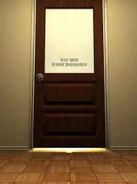 Image result for private eye door