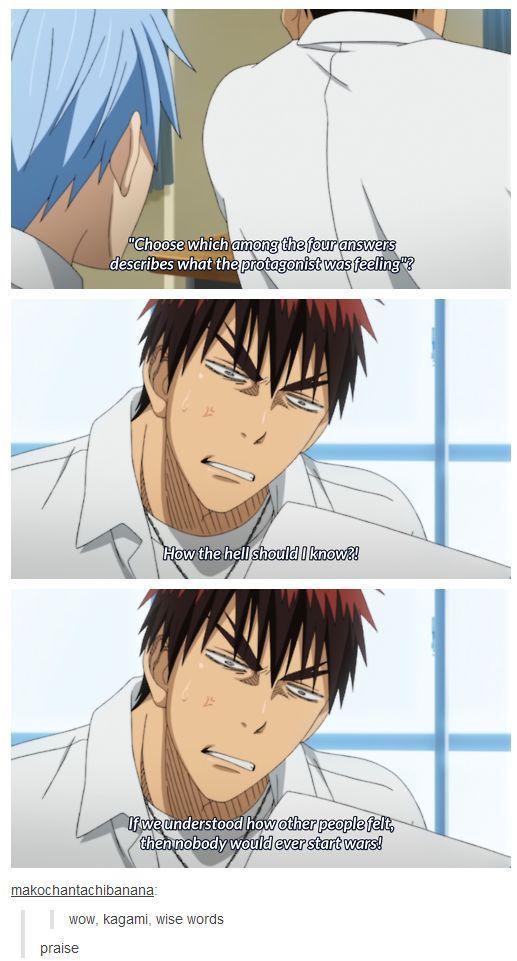Kagami speaks the truth!