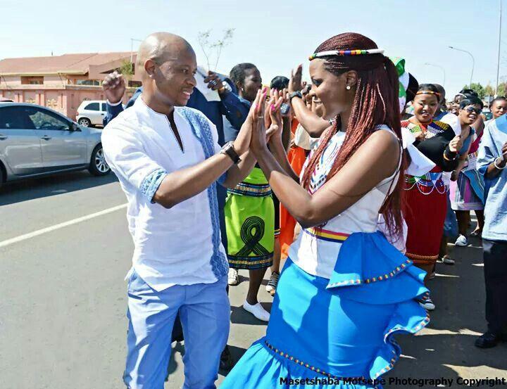South African Traditional Wedding, Masetshaba Motsepe Photography, Step