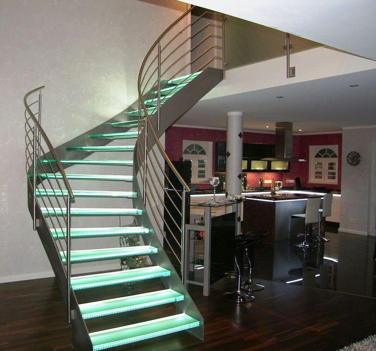 Ben noto 184 best Scale di design images on Pinterest | Stairs, Stairways  WM77