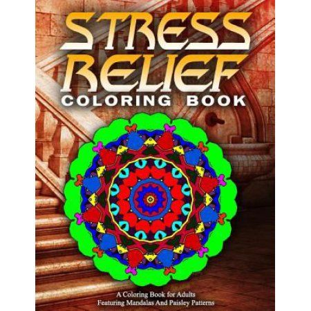 Stress Relief Coloring Book Volume 12 Adult Books Best Sellers For Women