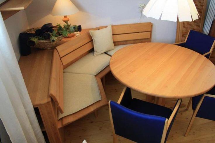 Schöne Eckbank, helles braun, Eiche inkl 2 Stühle in Nordrhein - gebrauchte küchen koblenz