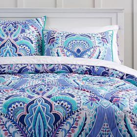 Kaleidoscope Comforter + Sham #PBteen