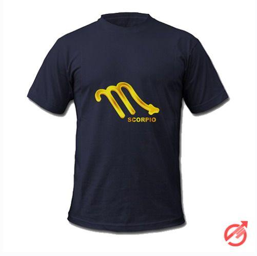 Zodiac Gold Scorpio T-Shirt