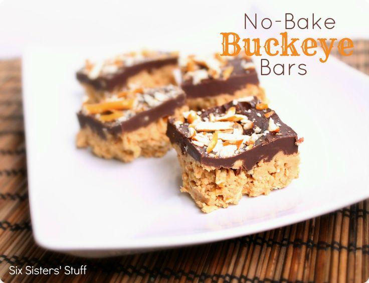 no bake buckeye bars corn flake bars buckeye bars corn flakes six ...