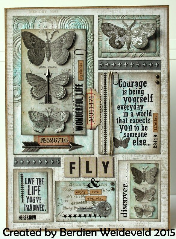 Scrap from Bemmel: Fly & enjoy life everyday