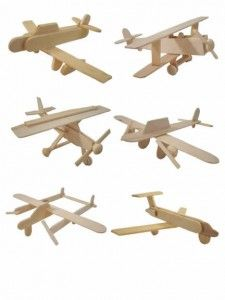 popsicle stick airforce - I'm so going to make these!!!