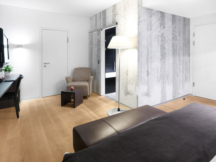OAK Clear, brushed,1x natural oil 1x white oil I HOTEL GLOCKENHOF, SWITZERLAND I natural wood floors I mafi.com