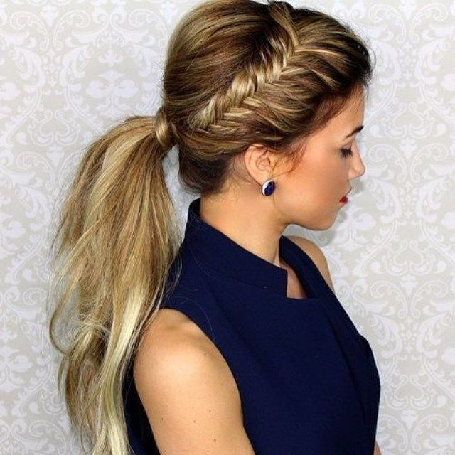 Pleasing 1000 Ideas About Cute Ponytail Hairstyles On Pinterest Cute Short Hairstyles For Black Women Fulllsitofus