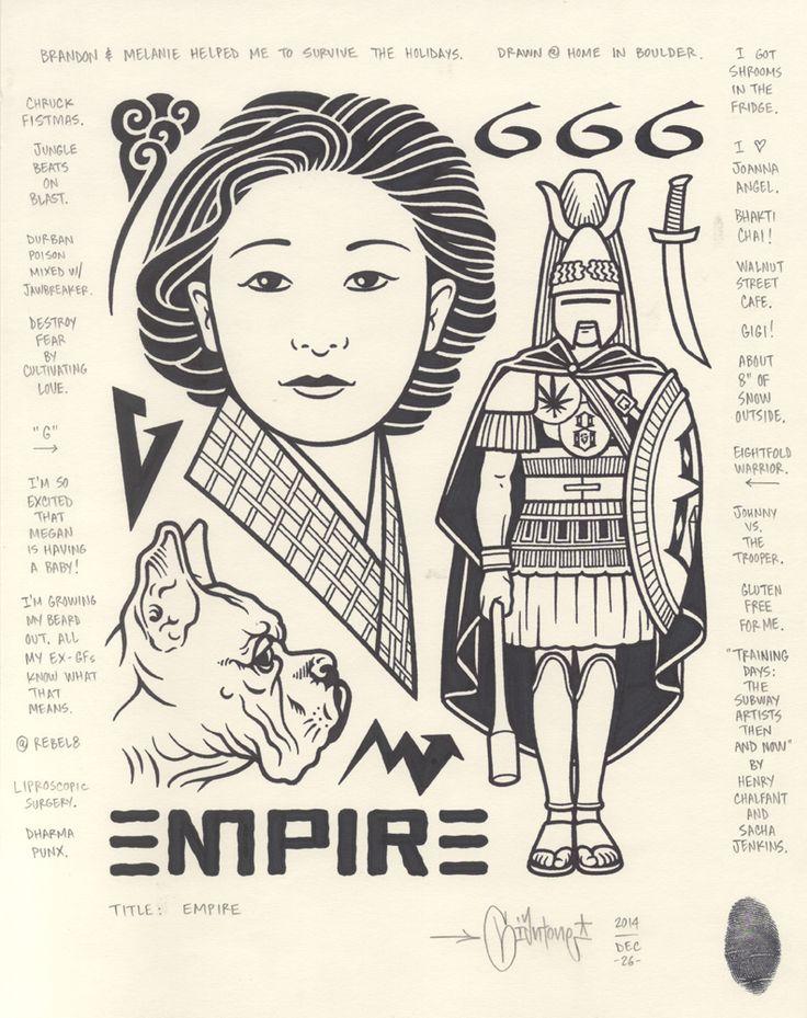 """""""Empire"""", 2014."""
