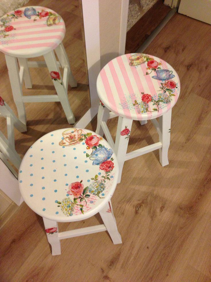 Oltre 25 fantastiche idee su decoupage sedia su pinterest - Mobili decoupage ...