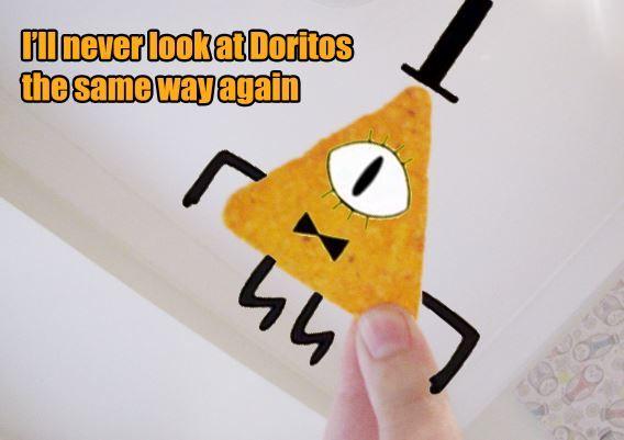 I'll never look at Doritos the same way again, Gravity Falls