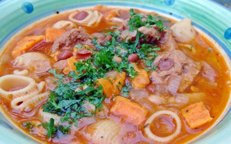 Sopa de Frijoles (Peruvian Bean Soup) [Vegan] | One Green Planet