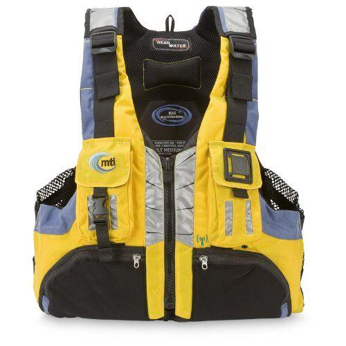 Mti adventurewear headwater high buoyancy pfd life jacket for Best life jacket for kayak fishing