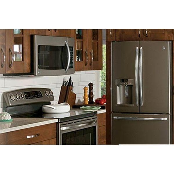 Gray Kitchen White Appliances: Kitchen Ideas, Kitchen Remodeling And Kitchen