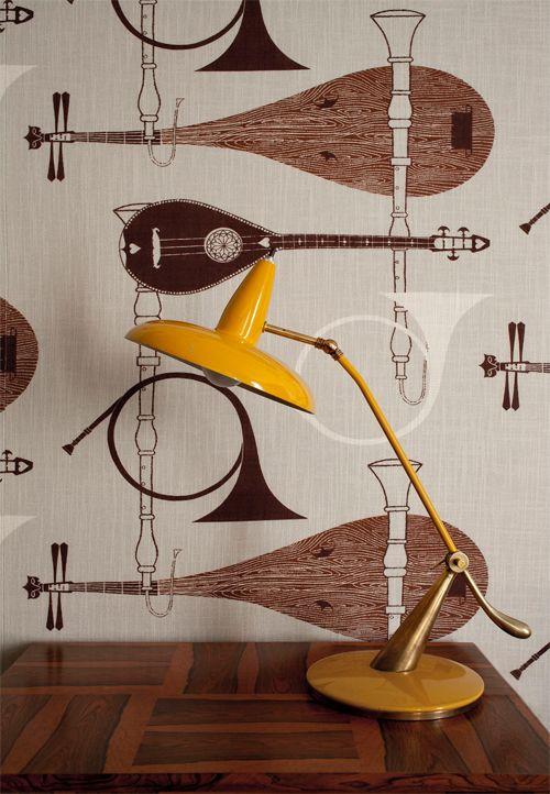 Mejores 12 im genes de wallpapers en pinterest papel pintado butacas y damascos - Gaston y daniela barcelona ...
