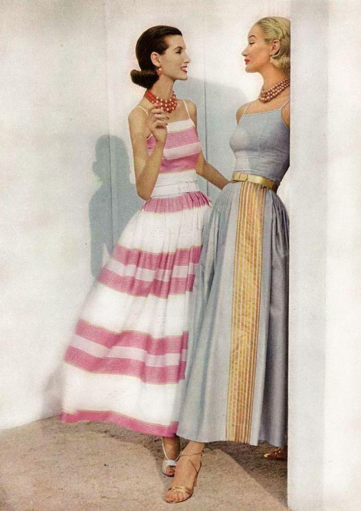 Мода 50-х самая очаровательная и изящная прошлой эпохи. Обсуждение на LiveInternet - Российский Сервис Онлайн-Дневников