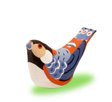 起き上り鳥 ヤマガラ   ateliergangu