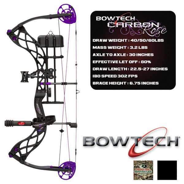 BowTech Carbon Rose - BowTech Carbon Rose Bows - Eagle Archery Marshall Wisconsin