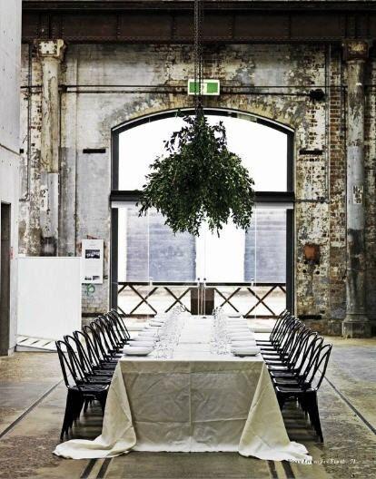 industrial wedding // warehouse wedding