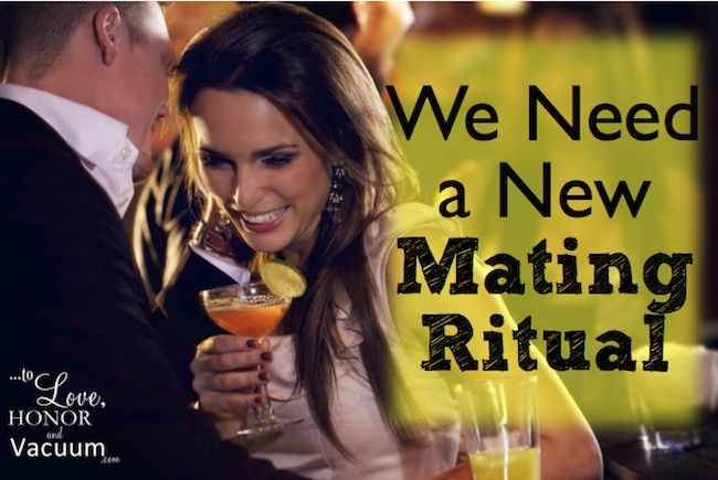 We Need a New Mating Ritual--so that we can find someone who matches our values.