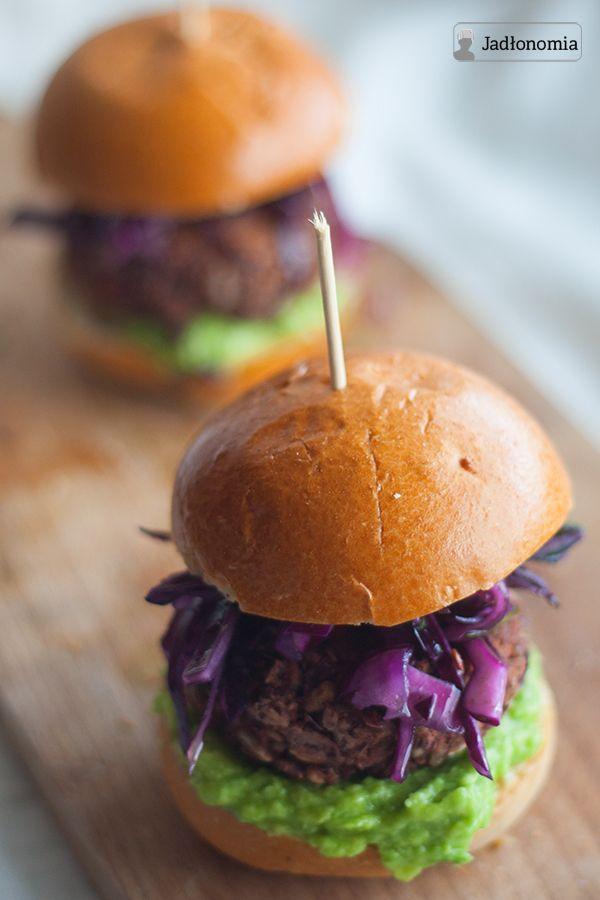 jadłonomia · roślinne przepisy: Meksykańskie burgery z czerwonej fasoli!