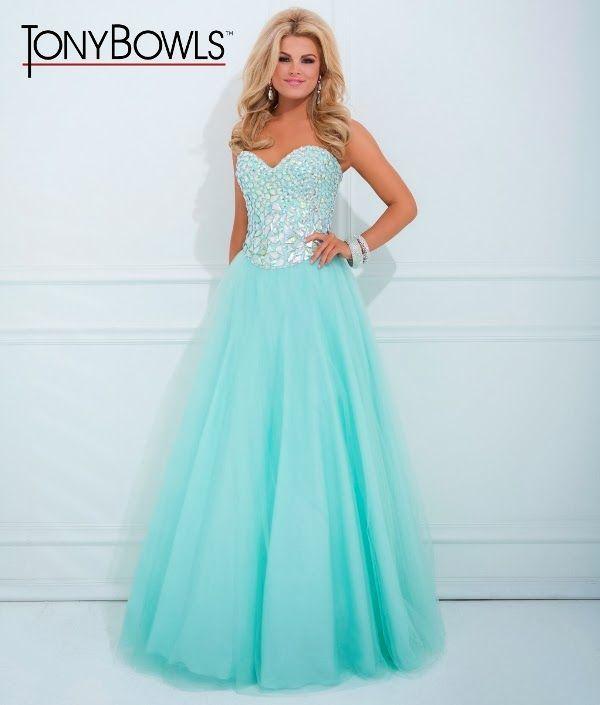 un vestido para 15 color verde agua lindo!!!!! | dress me | Pinterest