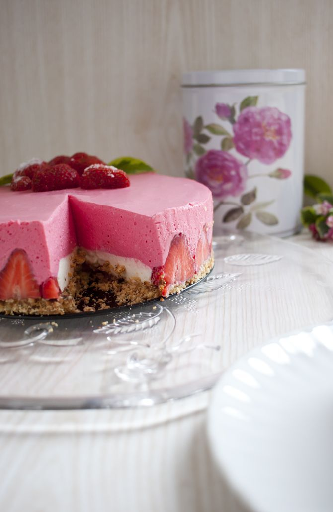Low Carb No Bake Cheesecake – Low Carb Köstlichkeiten