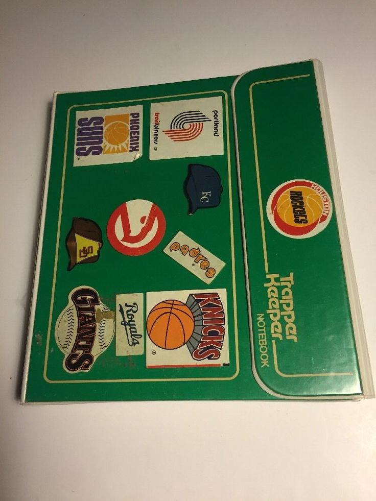Vintage Mead Green Trapper Keeper Binder With Extras 80s Stickers EXCELLENT LOOK  | eBay