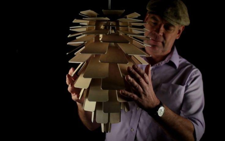 Holz Lampen aus Birken Sperrholz selber bauen