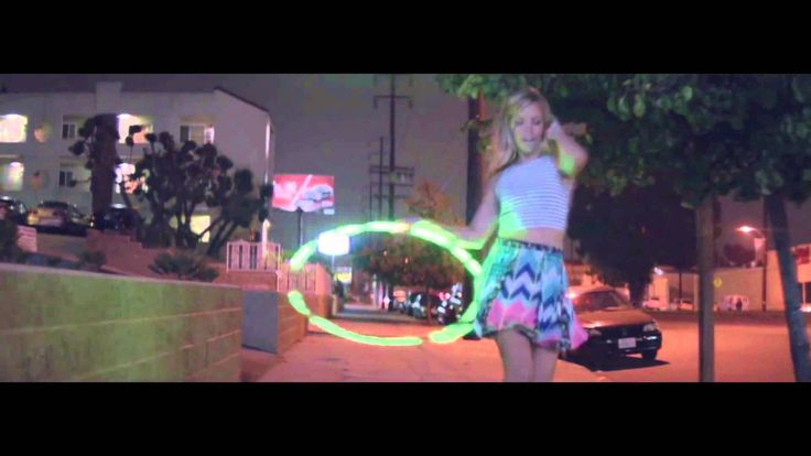 """Pharrell Williams Hula Hoop Girl 24 Hours of """"Happy""""-  Love seeing Birdie's face when she sees this <3"""