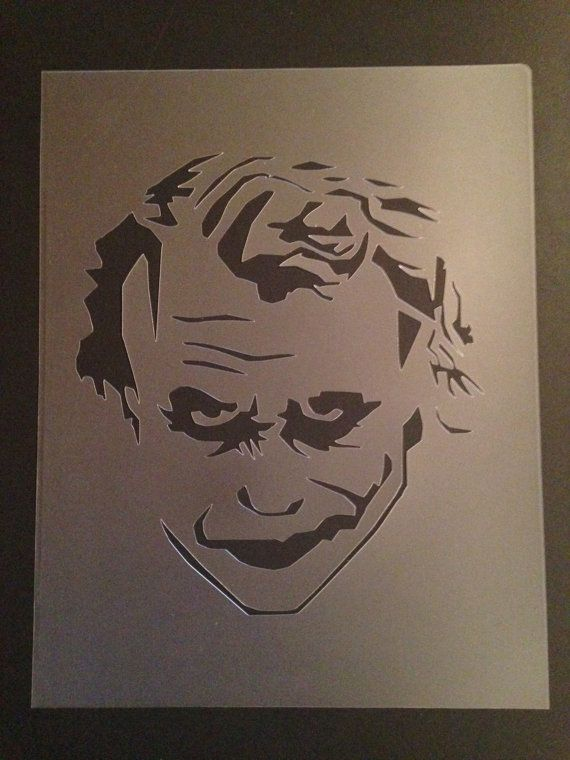 Airbrush Joker Wallpaper: Best 25+ Joker Stencil Ideas On Pinterest