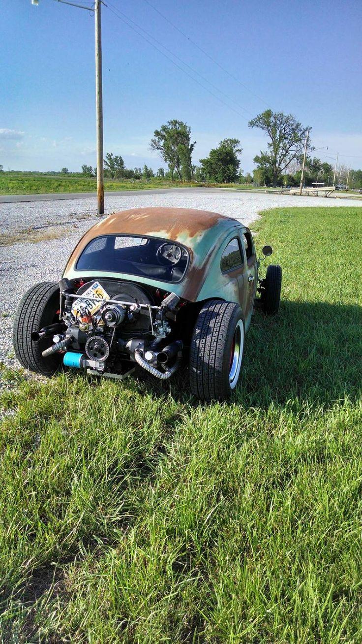 "ratrodsandrustbuckets: "" 1964 beetle rat rod built by Nick Melo in Plattsmouth Nebraska. """