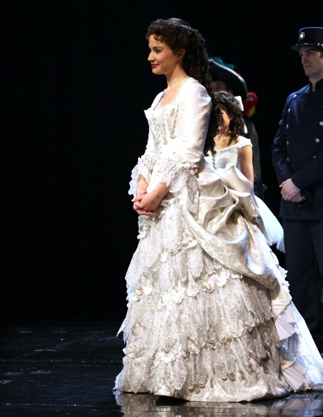 Photo Coverage: THE PHANTOM OF THE OPERA Celebrates 25th Anniversary Curtain Call. Such a beautiful woman <3