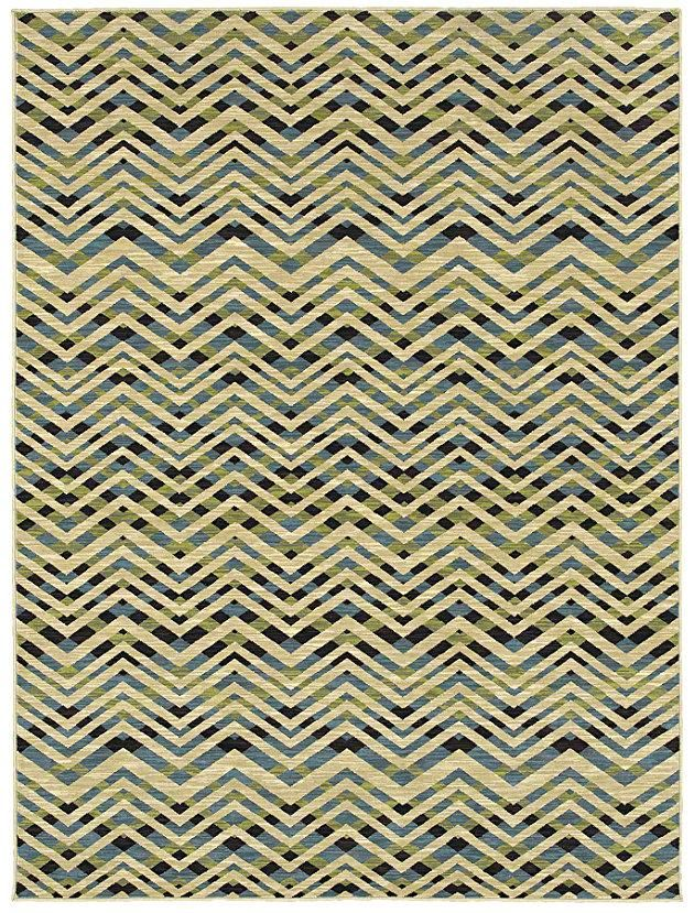 Area Rug In Style Quot Zara Quot By Shaw Floors Chevron Zigzag
