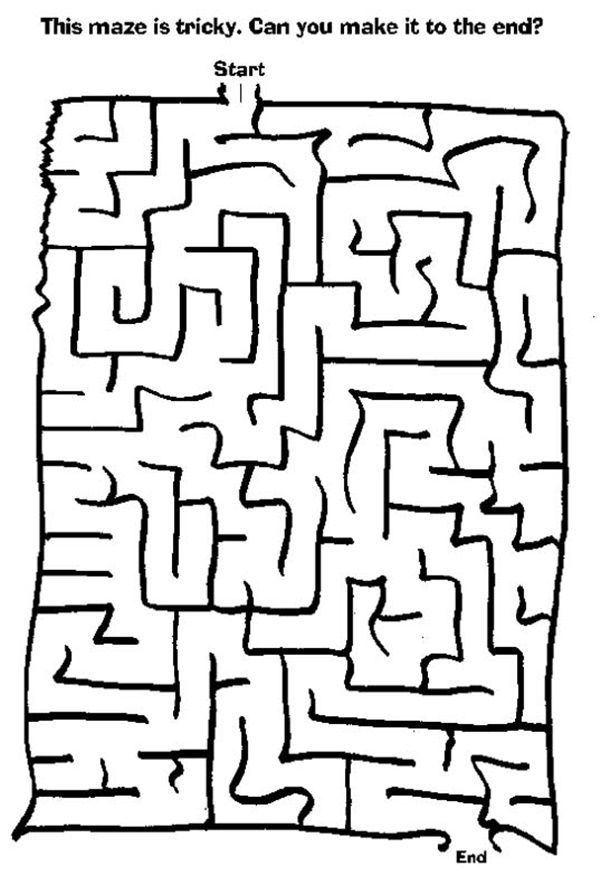 40 Free Printable Fun Worksheets For Kids With Images Mazes