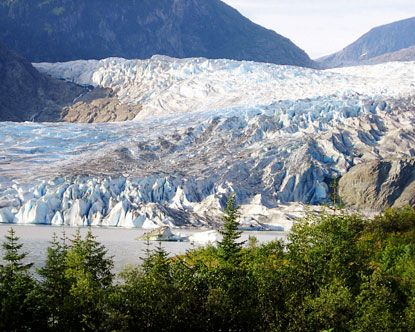 Mendenhall Glacier...one of my favorite sights from our Alaskan Cruise