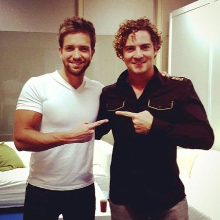 Pablo Alboran and David Bisbal (David Bisbal Instagram)
