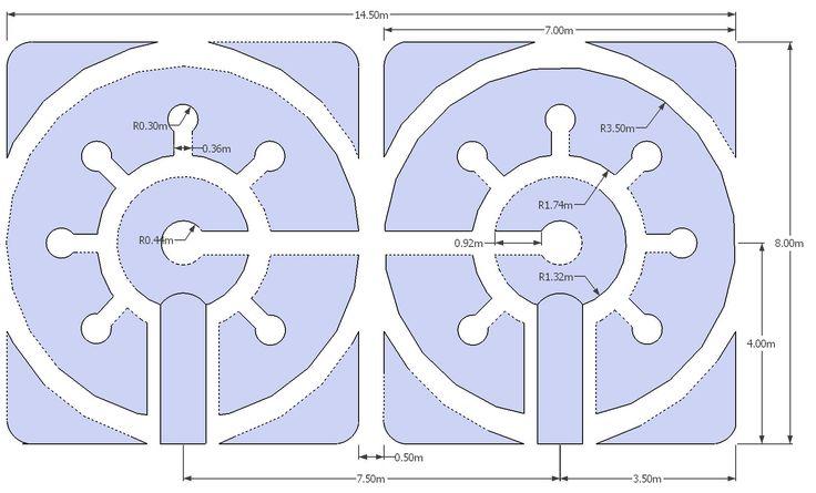 Top 25 ideas about mandala garden design on pinterest for Keyhole garden designs