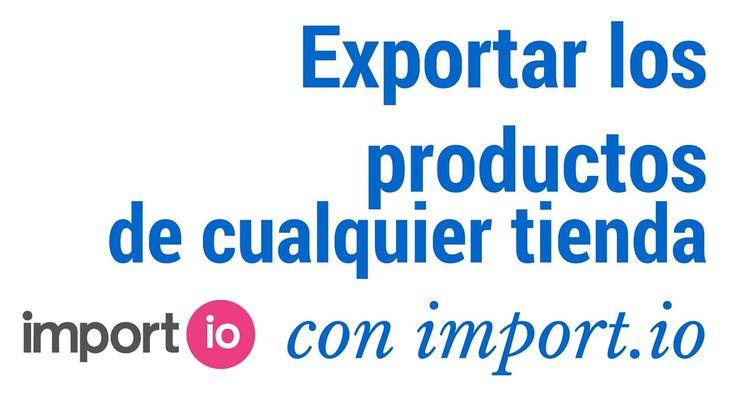 Crear una tienda importando productos de cualquier tienda en internet