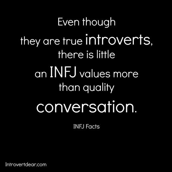 This is why people think I'm so extroverted. #INFJ