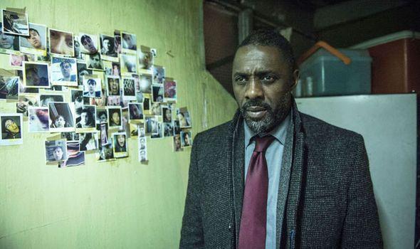 Idris Elba in Luther - be still my heart