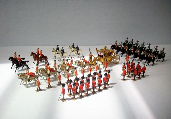 Antique Toy Soldiers / Britains Coronation Parade by urgestudio, $4500.00