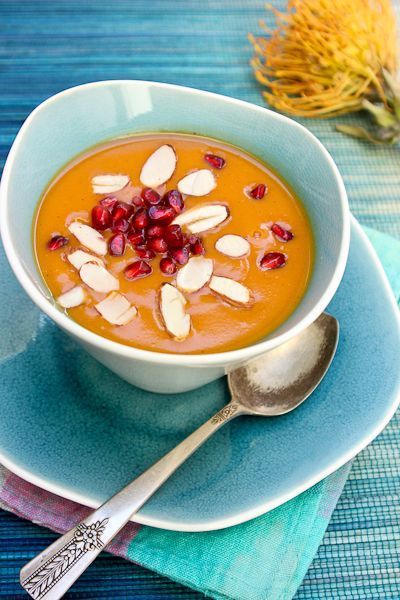 Chai-spiced Sweet Potato Bisque