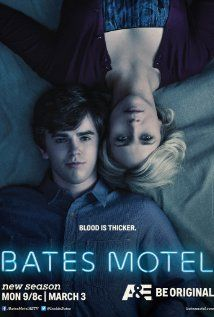 Bates Motel... This show scares the CRAP out of me... And yet.. Strangely.. I still love it! Freddie Highmore is amazing!